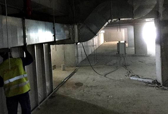 instalatie ventilatie veranda mall