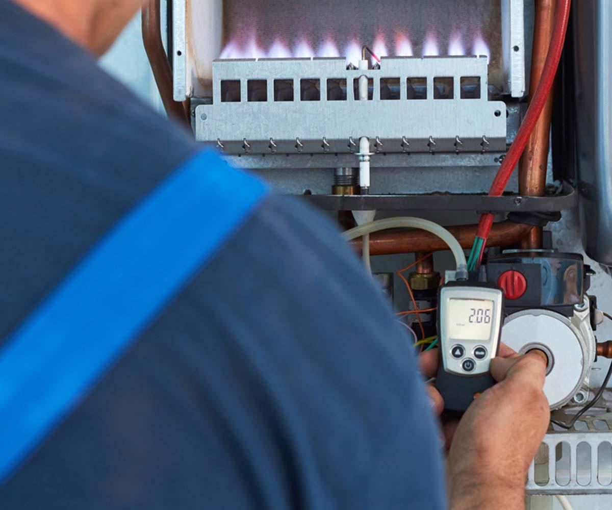 montaj detector de gaze si electrovalval apartament